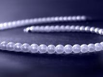 Blaue Perlen stockfotos