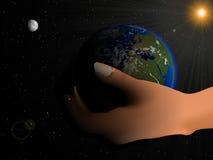 Blaue Planeten-Erde Lizenzfreie Stockbilder
