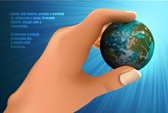 Blaue Planeten-Erde Lizenzfreie Stockfotos