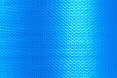 Blaue Plastikbeschaffenheit für Hintergrund Stockbild