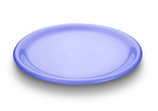 Blaue Platte stockfotos