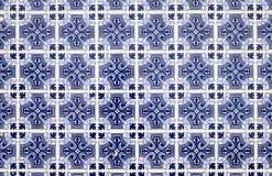 blaue mosaik azulejo beschaffenheit in lissabon stockfoto. Black Bedroom Furniture Sets. Home Design Ideas