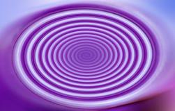 Blaue Purpurspirale - Hintergründe Stockfotografie