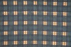 Blaue quadratische Textilbeschaffenheit Lizenzfreies Stockbild