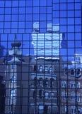 Blaue Reflexionen Stockbilder