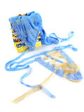 Blaue reizvolle Wäsche Lizenzfreies Stockfoto