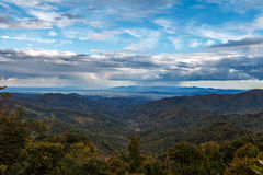 Blaue Ridge Parkway North Carolina-Landschaft Stockbilder