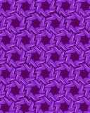 Blaue Schaltelemente auf dunklem violettem Hintergrund lizenzfreie abbildung
