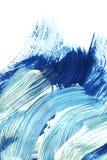 Blaue Schattenmalerei stockbilder