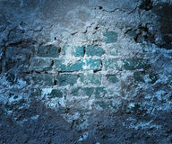 Blaue Schmutz-Wand-Beschaffenheit Stockbild