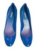 Blaue Schuhe Lizenzfreie Stockfotos