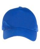 Blaue Schutzkappe lizenzfreies stockbild