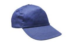 Blaue Schutzkappe stockbilder