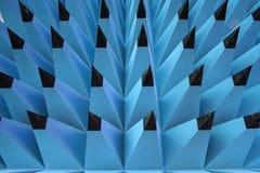 Blaue Schwammspitze in der abstrakten Bleistiftform Lizenzfreies Stockfoto