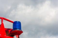 Blaue Signallampe Lizenzfreie Stockbilder