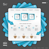 Blaue Site Lizenzfreie Stockfotos