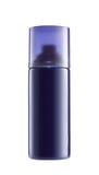Blaue Spraydose Stockbild