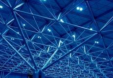 Blaue Stützstruktur Lizenzfreie Stockfotos