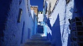 Blaue Stadt in Marokko - Chefchaouen Stockfotografie