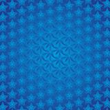 Blaue Stern-Hintergrund Stockbild