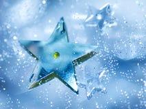 Blaue Stern-Hintergrund Lizenzfreie Stockfotografie