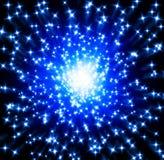 Blaue Sterne vektor abbildung