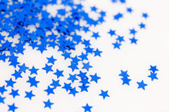 Blaue Sterne Stockfotografie