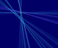 Blaue Strahlen Lizenzfreies Stockfoto