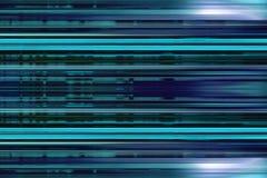 Blaue Streifen-Hintergrund Lizenzfreies Stockbild