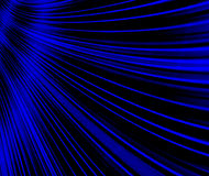 Blaue Strudel-Auslegung Stockbild