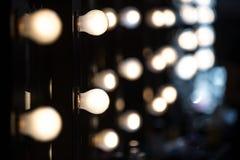 Blaue Tönung und Blinken vom Fotografen Stockfotografie