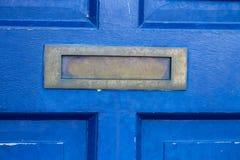 Blaue Tür Stockbilder