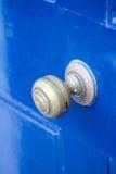 Blaue Tür Stockfotos