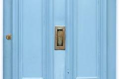 Blaue Tür Lizenzfreie Stockfotos