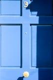 Blaue Tür - Nr. 3 Stockbilder