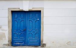 Blaue Türen Lizenzfreies Stockbild