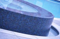 Blaue Tage Stockbild