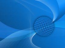 Blaue Tapete Stockbild