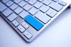 Blaue Tastatur Lizenzfreie Stockbilder