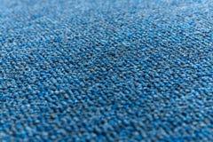 Blaue Teppichbeschaffenheit Lizenzfreies Stockfoto