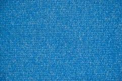 Blaue Teppichboden-Beschaffenheit stockbild