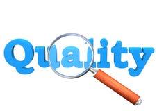 Qualitäts-Lupe Stockbild