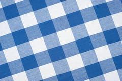 Blaue Tischdecke Lizenzfreies Stockbild