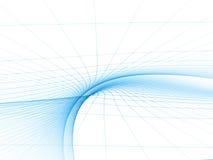 Blaue Topologie-Schablone Stockfotos