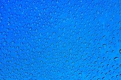Blaue Tröpfchen stockfotos