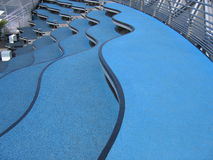 Blaue Treppen Stockfotos