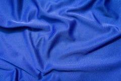 Blaue Tuch-Beschaffenheit Stockbild