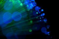 Blaue und grüne Lichter Lizenzfreie Stockfotografie
