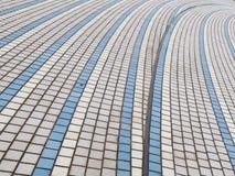 Blaue und graue Abstraktion Lizenzfreie Stockfotografie