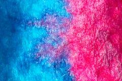Blaue und rosafarbene Beschaffenheit stockfoto